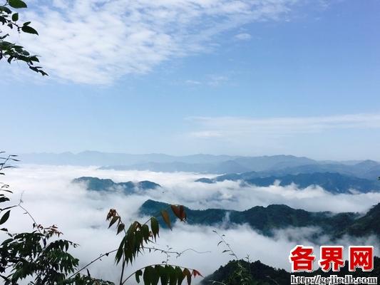 雁山瀑布景区揽胜