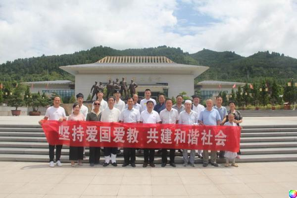 陈仓区组织宗教界代表人士开展爱国主义教育活动