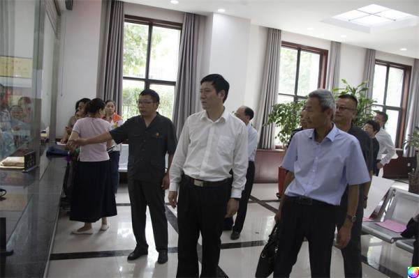 江西省高院夏克勤副院长一行到阿克陶县法院调研指导工作
