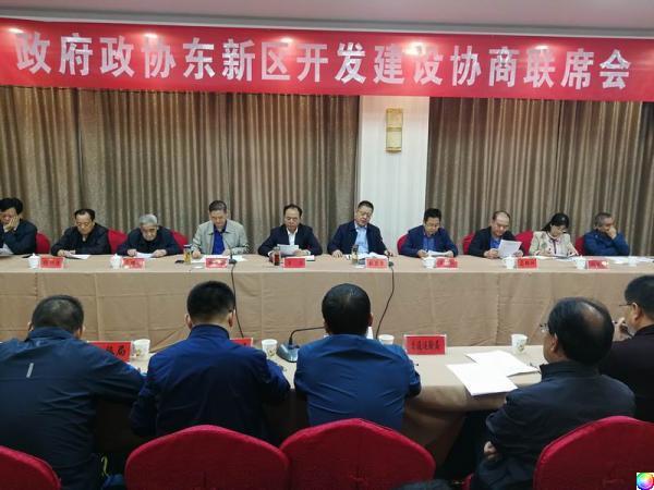 凤翔县召开政府政协东新区开发建设联席会