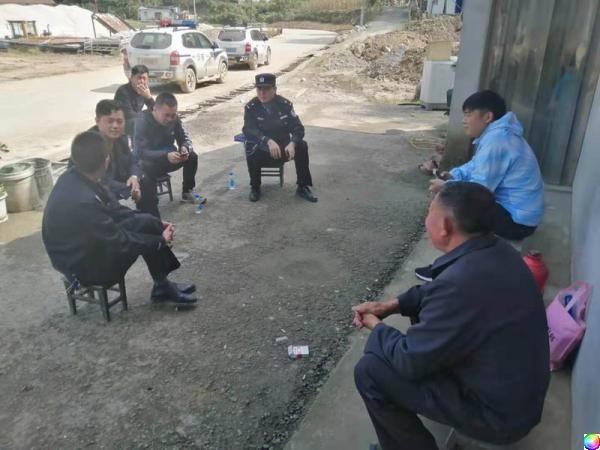 宁陕公安:扎实做好重点项目建设安保维稳工作