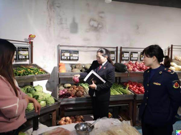 柞水县检察院开展校园食品安全执法检查关爱