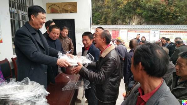 宁陕县政协副主席谢四新到金川镇调研督导工作